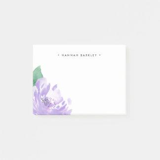 Post-it® Pivoine d'améthyste | personnalisé