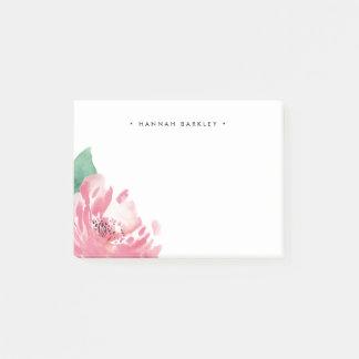Post-it® Pivoine de floraison | personnalisé