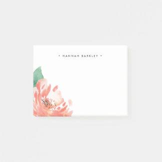 Post-it® Pivoine de rougissement | personnalisé