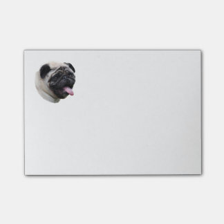 Post-it® Portrait de photo d'animal familier de chien de