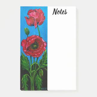Post-it® Post-it de fleur de pavot