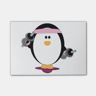 Post-it® Post-its d'ascenseur de pingouins