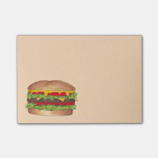 Post-it® Post-its de nourriture de fin gourmet de