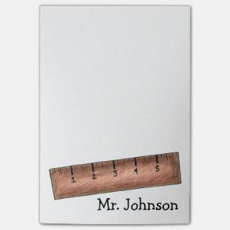 Post-it® Post-its personnalisés de professeur de maths