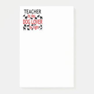 Post-it® Professeur d'amoureux des chiens en rouge