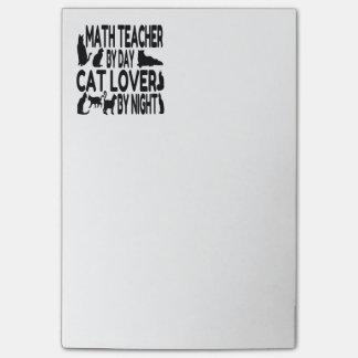 Post-it® Professeur de maths d'amoureux des chats