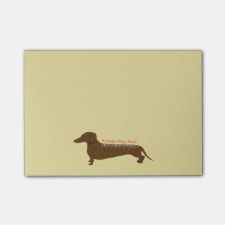 Post-it® Règle de chiens de saucisse