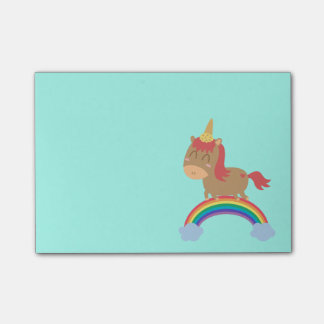 Post-it® Rêves mignons de cheval à être humour de licorne