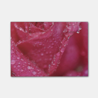 Post-it® Rose de scintillement de rose