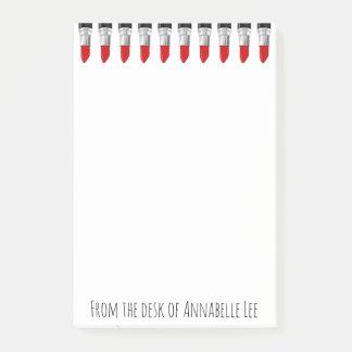 Post-it® Rouge à lèvres de rouge de Smokin