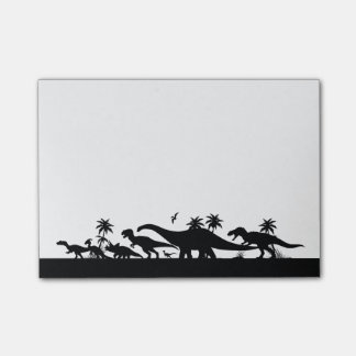 Post-it® Silhouettes de dinosaure