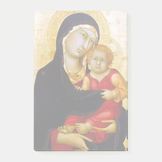 Post-it® Simone Martini Madonna et enfant