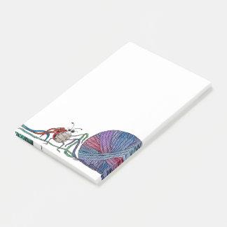 Post-it® Tant de notes de post-it de coccinelle