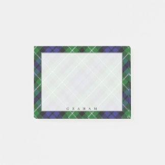 Post-it® Tartan écossais majestueux de Graham de clan