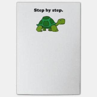 Post-it® Tortue de gain persistante de tortue point par