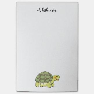 Post-it® tortue de sourire mignonne