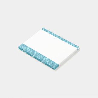 Post-it® Traits horizontaux verticaux bloc-notes de post-it
