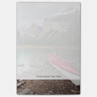Post-it® Un kayak de mer à terre à l'île d'esprit