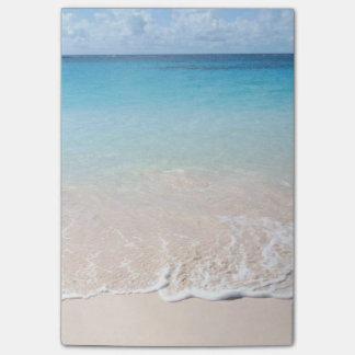 Post-it® verticale de post-it de plage