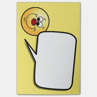 Post-it® Visage souriant sournois Grumpey