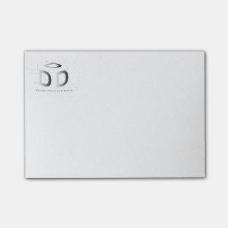 Post-it® Vos Courrier--Notes de logo de société