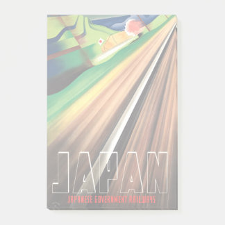 Post-it® Voyage vintage de train du Japon