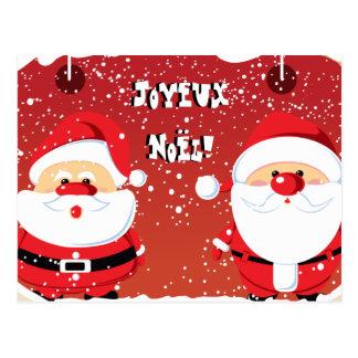 Postales de cartes de Père Noël le père noël