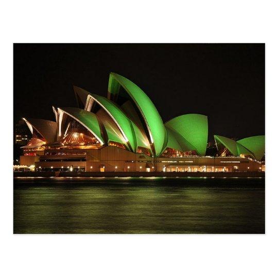 Postcard / Carte Postale Sydney Opera House, Aus.