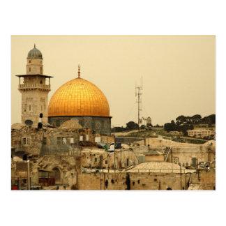Postcard Dome Of Rock, Jerusalem Israel Carte Postale