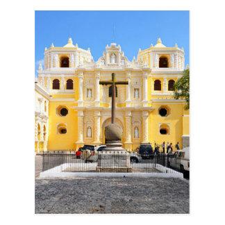 Postcard La Merced Church, Antigua, Guatemala Cartes Postales