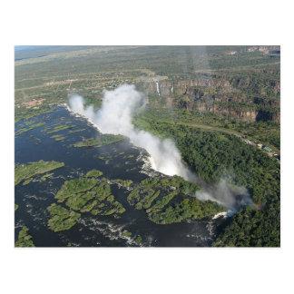 Postcards Victoria Falls in Kazungula, Zambie Cartes Postales
