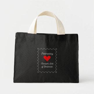 Postcrossing - Random Acts of Smileness Mini Tote Bag
