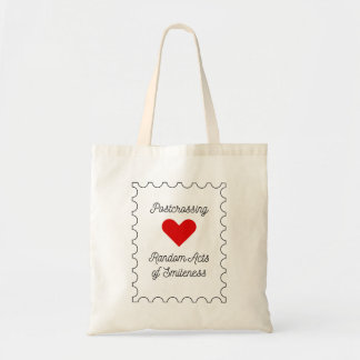 Postcrossing - Random Acts of Smileness Tote Bag