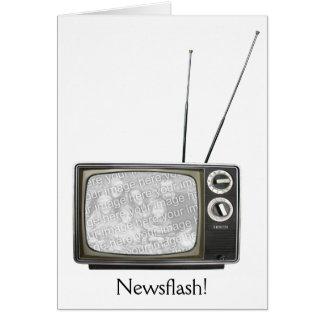 Poste TV Cartes De Vœux