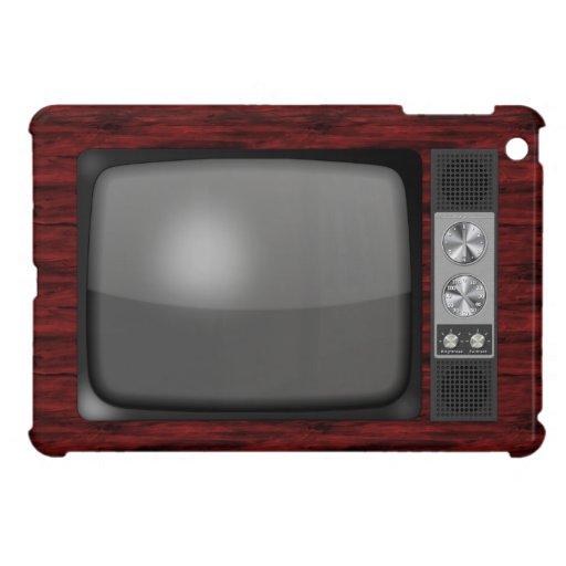 Poste TV de rétro cru Coques iPad Mini