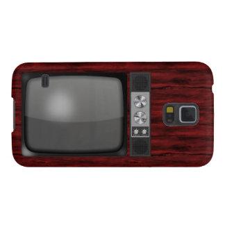 Poste TV de rétro cru Coques Pour Galaxy S5