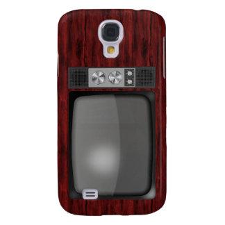 Poste TV de rétro cru Coque Galaxy S4