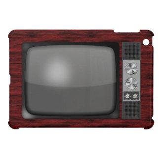 Poste TV de rétro cru Coque iPad Mini