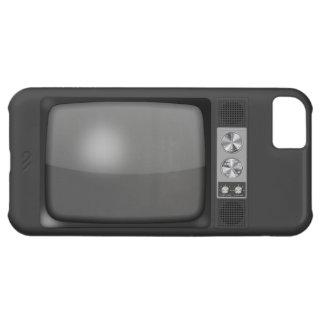 Poste TV de rétro cru Coque iPhone 5C