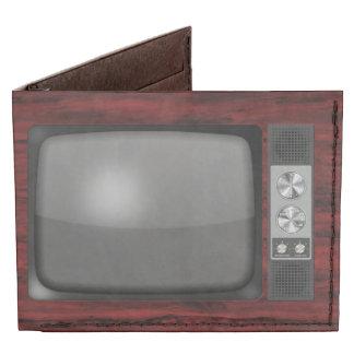 Poste TV de rétro cru Portefeuille 2 Volets Tyvek®