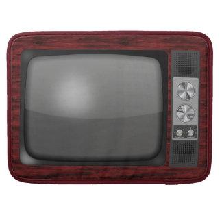 Poste TV de rétro cru Housse MacBook Pro