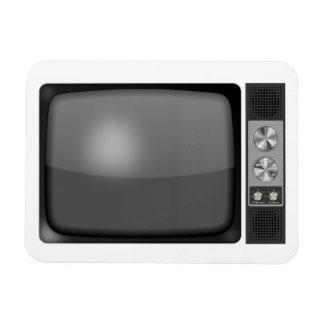 Poste TV de rétro cru Magnet