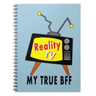 poste TV démodé BFF de la réalité TV de carnet