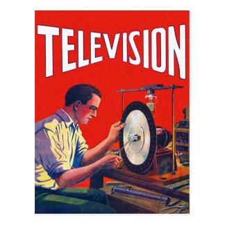 Poste TV tôt de TelevisionTechnology de kitsch Cartes Postales