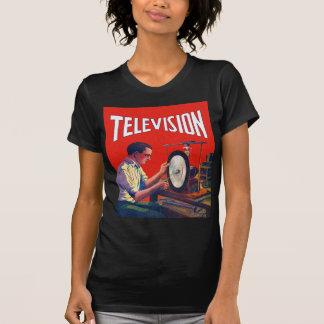 Poste TV tôt de TelevisionTechnology de kitsch T-shirts