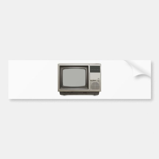 poste TV vintage Autocollant Pour Voiture