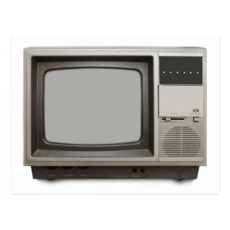 poste TV vintage Carte Postale