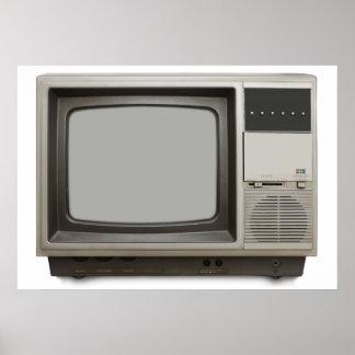 poste TV vintage Affiches