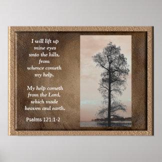 Poster 121:1 de psaumes - ~Lift 2 vers le haut de copie