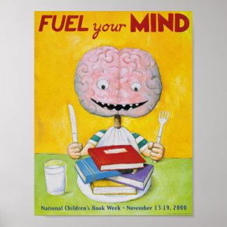 Poster 2000 affiches de la semaine du livre des enfants